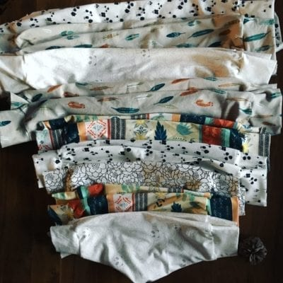 leggings, bibs, skirts, caps, and quilts OH MY