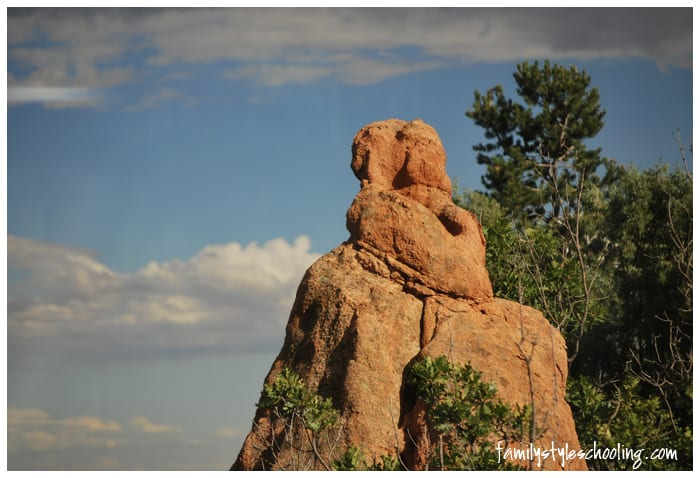 Garden of the Gods mountains