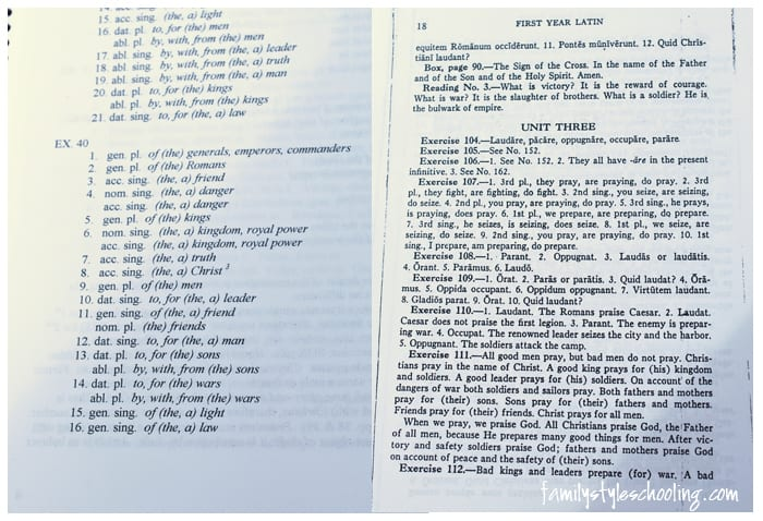 henle latin answer key