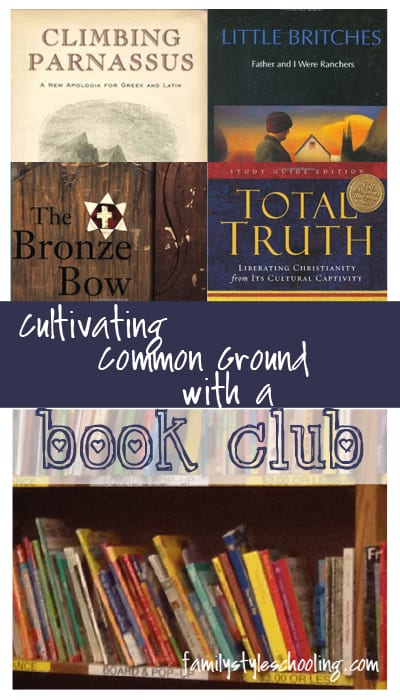 Cultivating Common Ground with a mom's book club