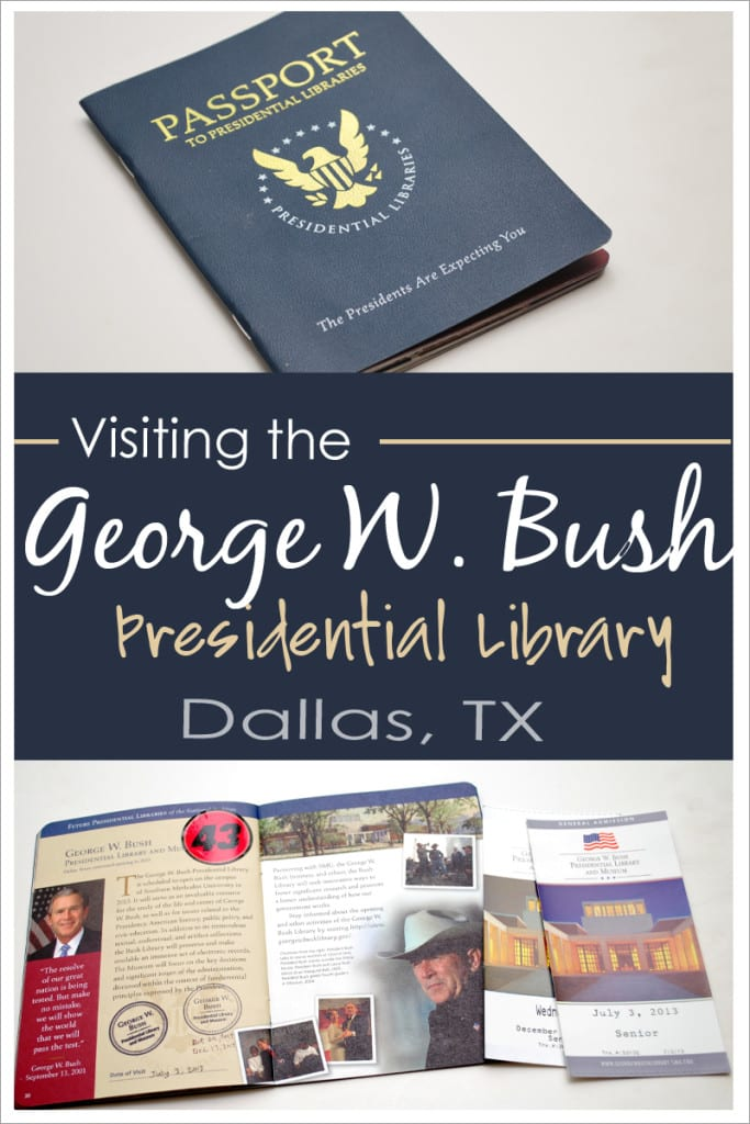 Visiting the George W Bush Presidential Library with Passport