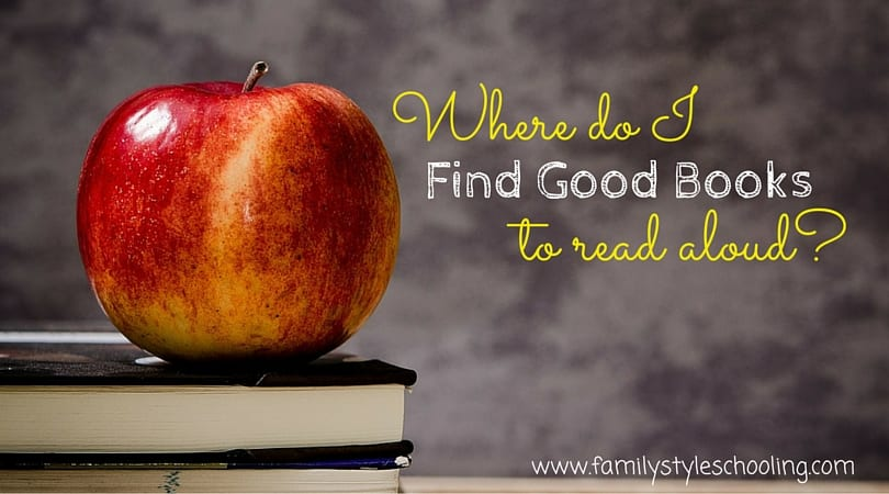 Where to find good books to read aloud
