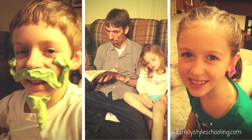 family read alouds thinking putty