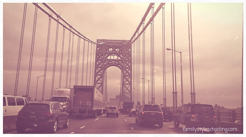Crossing the Washington Bridge