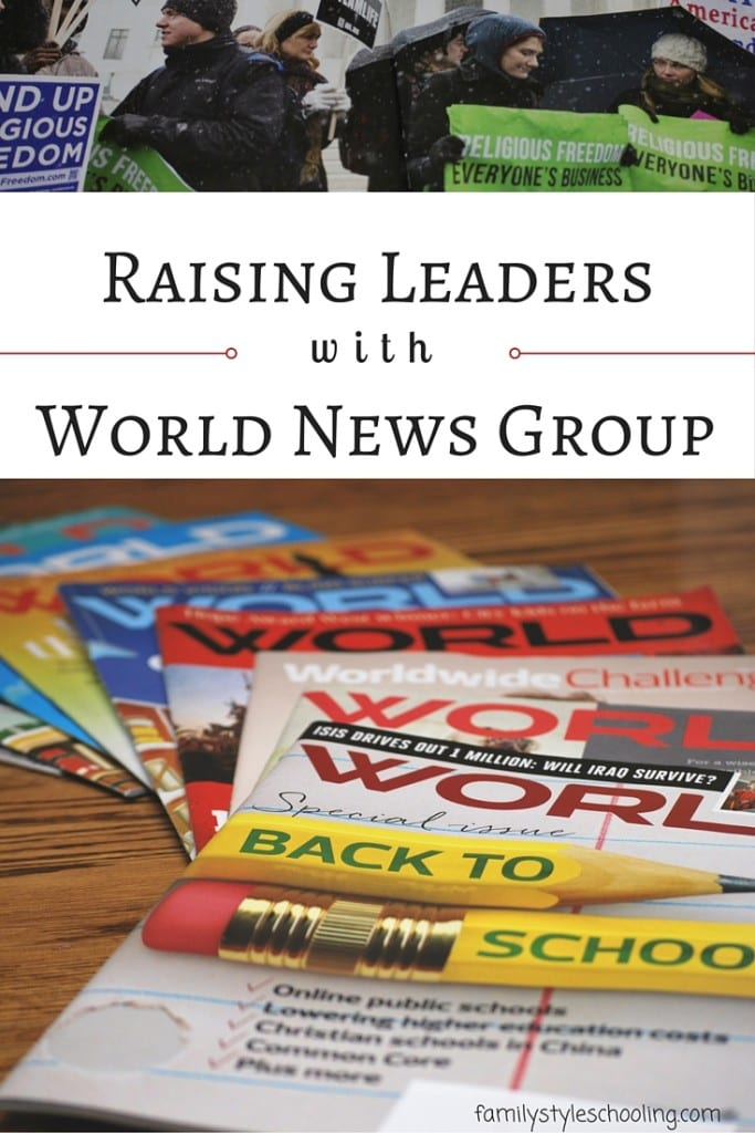 World News Group Magazines train leaders