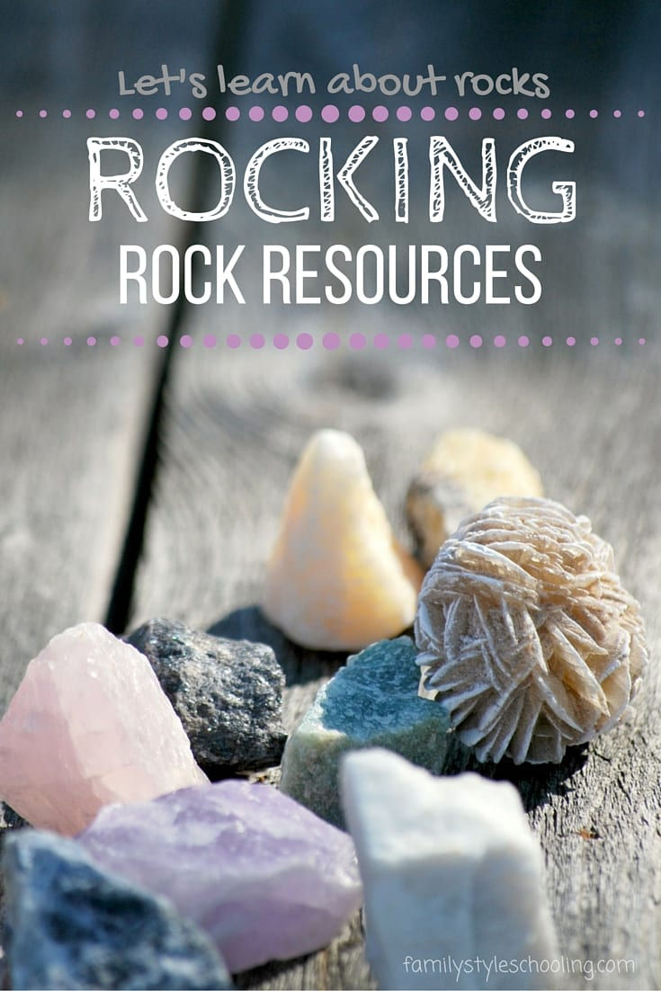 Learn about rocks with these amazing resources