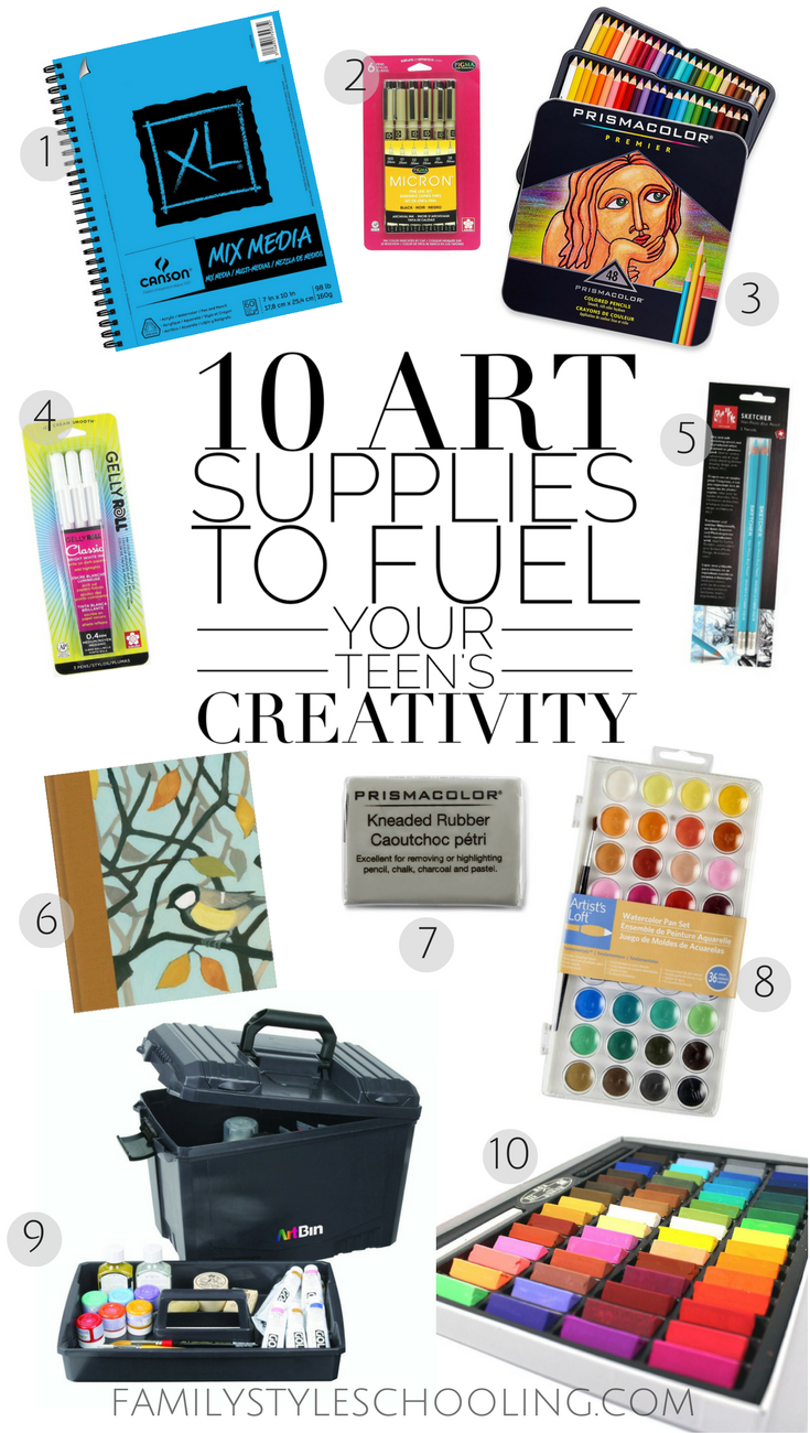 art supply gifts