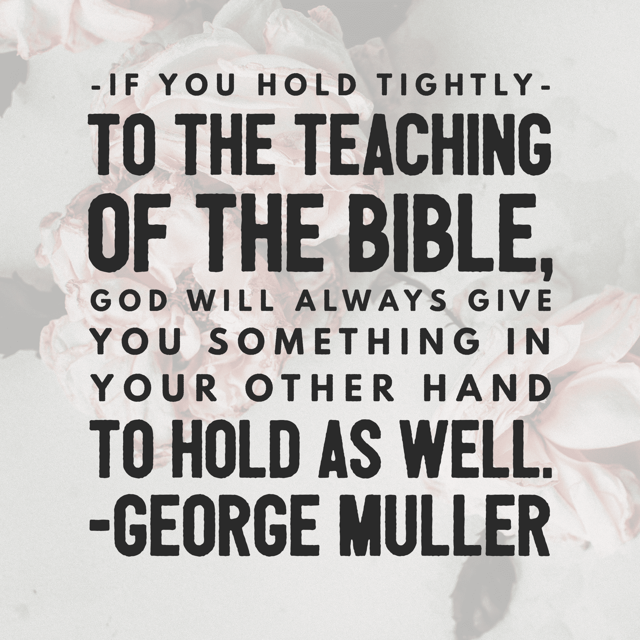 George Muller quote