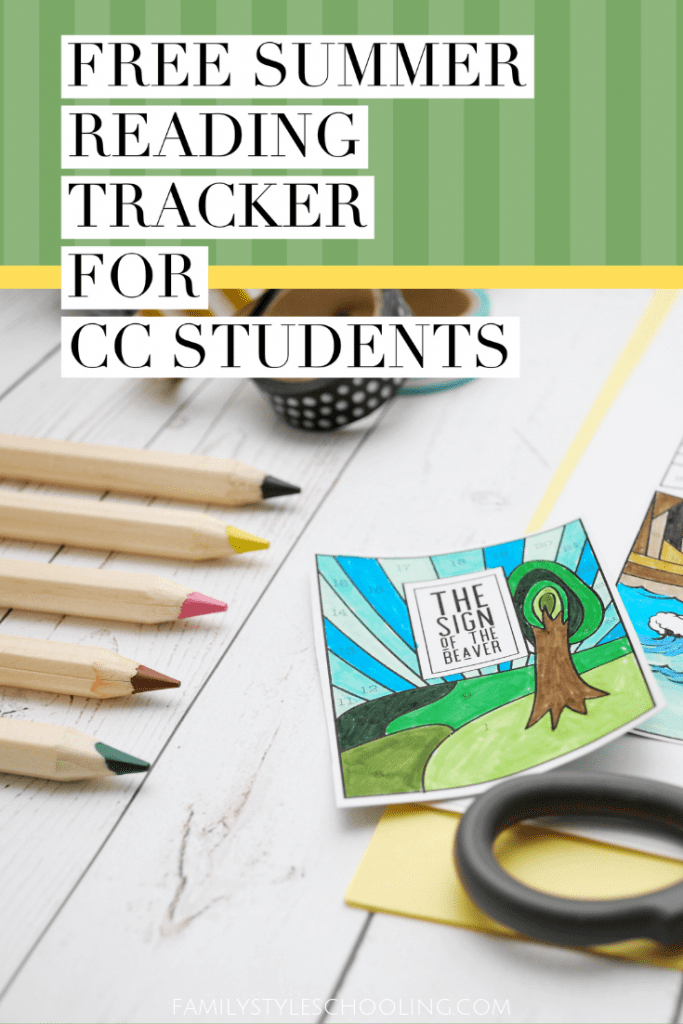 summer reading tracker