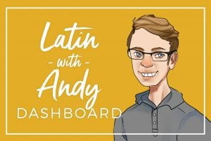 Latin with Andy Dashboard