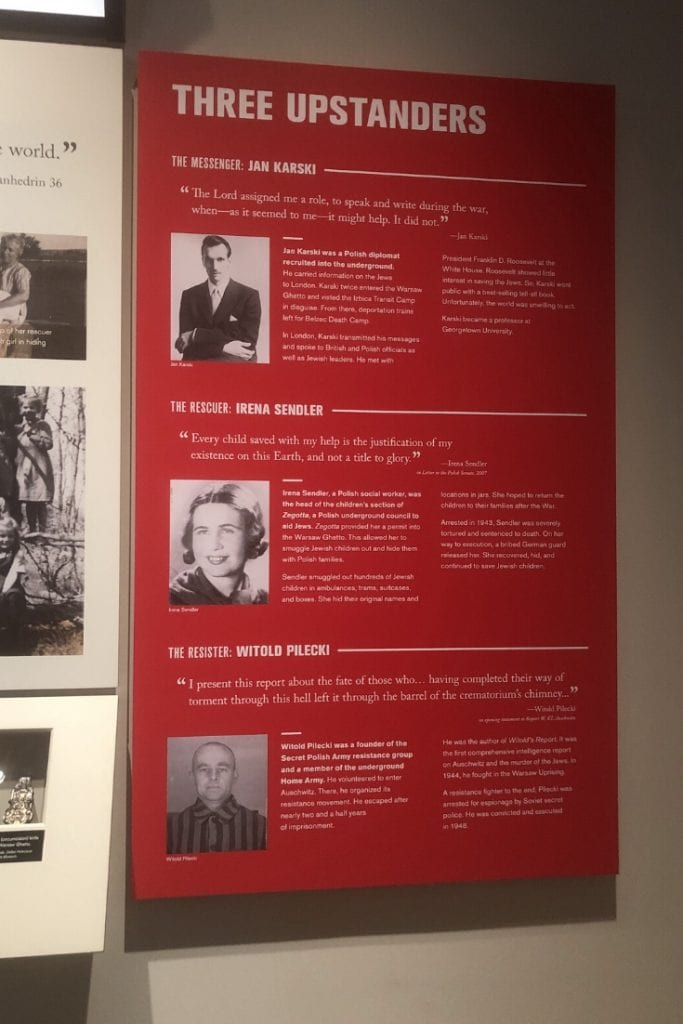 Dallas Holocaust Museum upstanders
