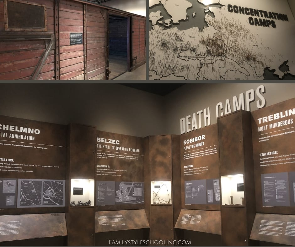 Dallas Holocaust Museum exhibit
