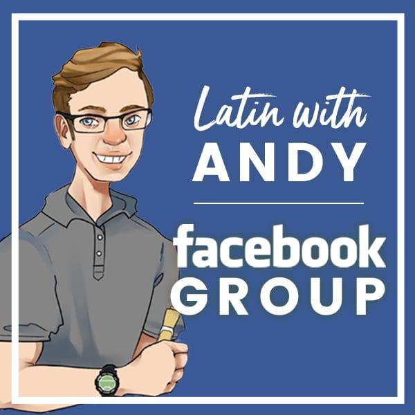 Latin with Andy Facebook Group