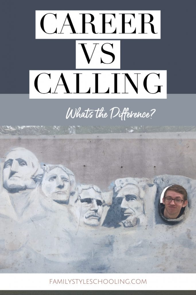 Career vs calling