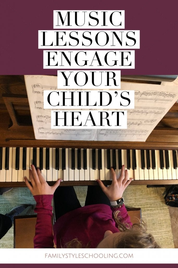 music lessons engage your child's heart