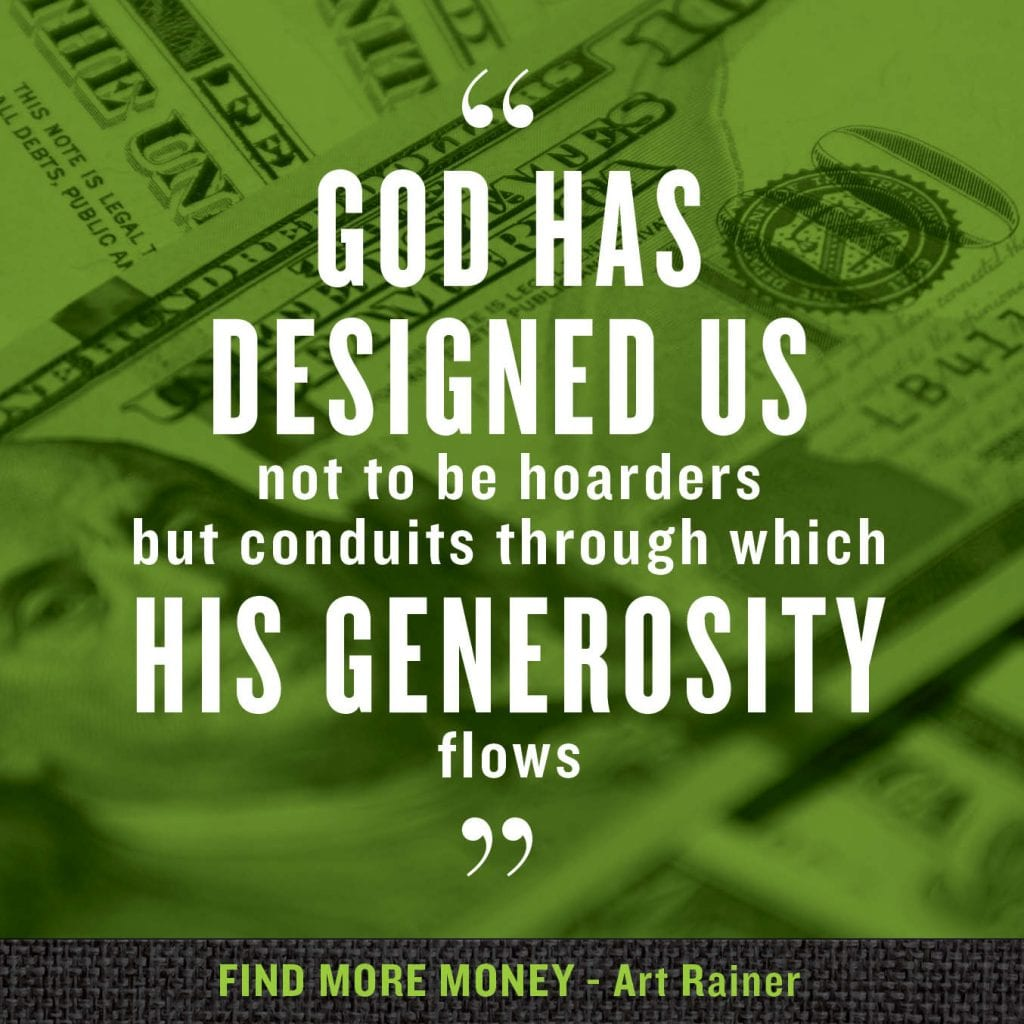 conduits of God's generosity