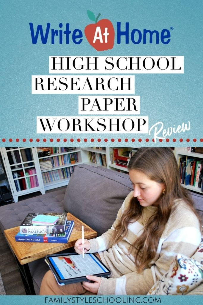 WriteAtHome high school research paper